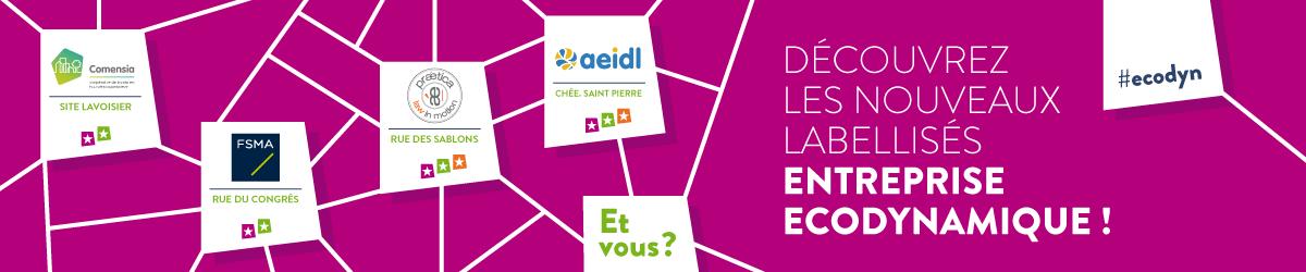 Le nouveau Label Entreprise Ecodynamique dévoile ses premiers labellisés !