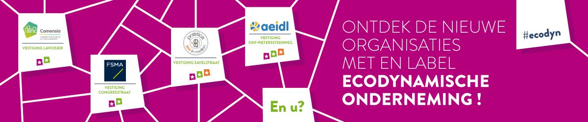Nieuw Label Ecodynamische Onderneming presenteert eerste gelabelde organisaties!
