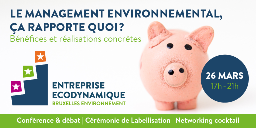 A vos agendas : bientôt la conférence du Label Entreprise Ecodynamique !