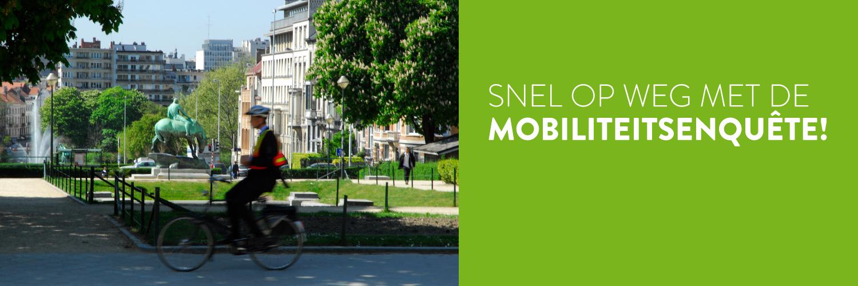 Snel op weg met de mobiliteitsenquête!