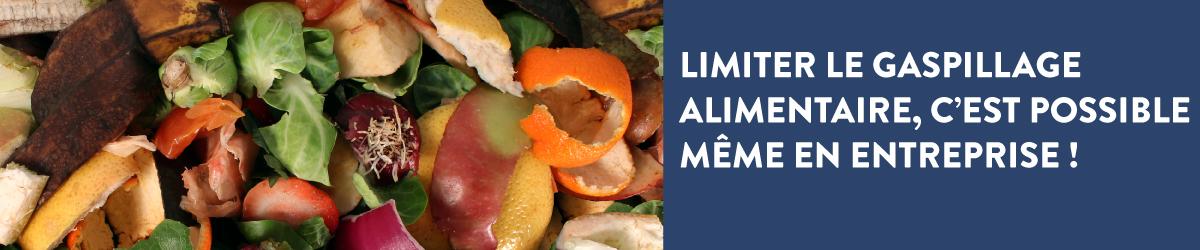 Limiter le gaspillage alimentaire, c'est possible même en entreprise !